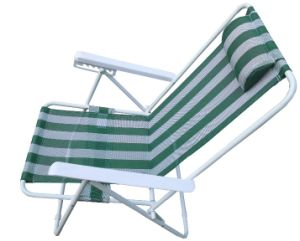 Hc-Ls-FC97-1 Five Position Adjustable Folding Beach Chair
