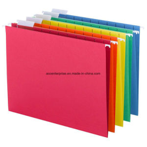 High Quality Foolscap Size, FC Suspension File with Index Tabs pictures & photos