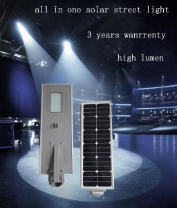 80W All in One Solar Street Lighting pictures & photos
