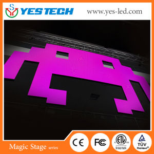 Slim Indoor Stage Background Event Fullcolor LED Sign pictures & photos