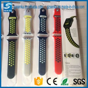 Soft Silicone Quick Release Replacement Strap for Apple iwatch for Sport Band pictures & photos