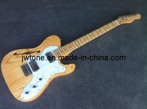 Ash Body F Hole Design Electric Guitar pictures & photos