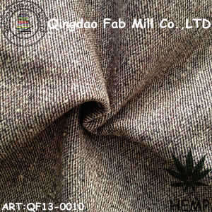 Hemp/Organic Cotton Yarn Dyed Fabric (QF13-0010) pictures & photos