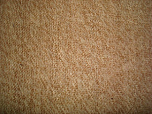 Wool Nylon Brown Heather Terry Fleece Knitting Fabric pictures & photos