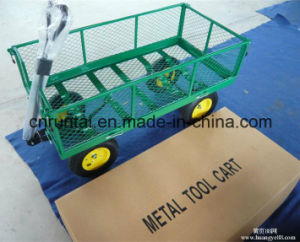 Garden Heavy Duty Mesh Tool Cart pictures & photos