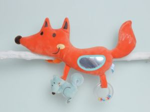 Muti Function Baby Plush Fox Baby Crib Toy pictures & photos
