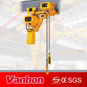 3ton Low Headroom Electric Hoist for Limit Space Hoisting (WBH-03001DL) pictures & photos