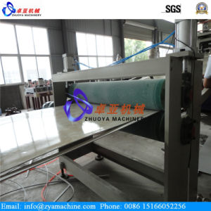 PVC WPC Profile Production Line/PVC WPC Wall Panel Machine/PVC Marble Panel Machine pictures & photos