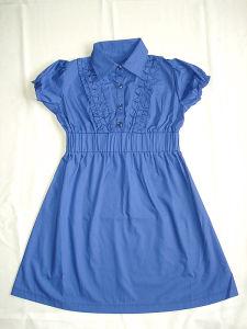 Pleated Frill Dress (#4571)