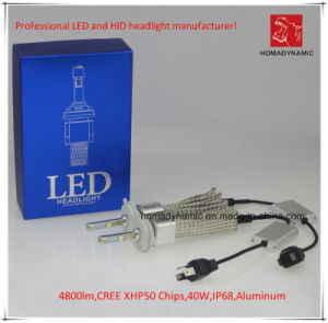 CREE Xhp50 Authorized LED Headlight 4800lm, with Ce, RoHS. pictures & photos