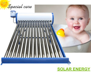 Evacuated Tubes Solar Water Heater (non pressure solar collector geyser) pictures & photos