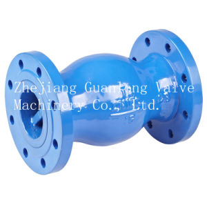 Flanged Ball Type Check Valve (QH44X) Micro Resistance pictures & photos