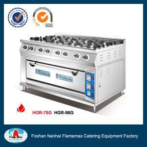 8-Burner Gas Range with Gas Oven (HGR-98G) pictures & photos