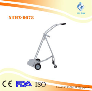 Factory Direct Price Ce ISO High Quality Stainless Steel Oxygen Cylinder Trolley/Cart, Oxygen pictures & photos