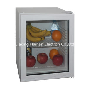 Glass Door with Mini Refrigerator pictures & photos