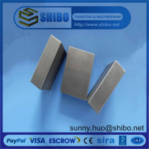 High Purity Tungsten Sheet/Plate for Vacuum Furnace pictures & photos