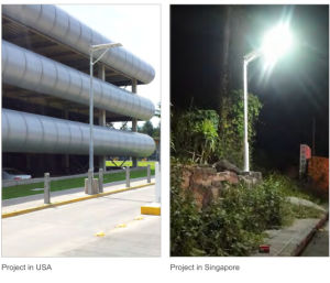 Sunrise Brand/Solar Street Lights with PIR Sensor (SRS-S40) pictures & photos