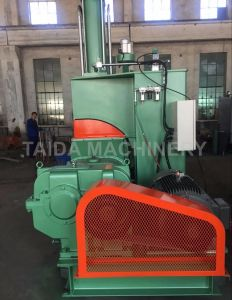 20, 35, 55, 75 Liters Tilting Type Rubber Compounding Pressurized Dispersion Kneader Banbury Mixer Machine pictures & photos