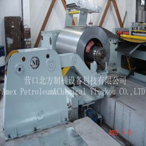 55 Gallon Steel Barrel Uncoiling Machine and Hydraulic Support pictures & photos