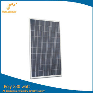 Poly 230W 30V Solar Panel (SGP-230W) pictures & photos
