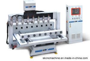 Wood, Acrylic, Plastic, Aluminium CNC Rotary Engraving Machine (SK-RVG3012*8))