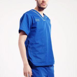 Scrub Uniform Suit Set Top and Pants Medical Hospital Uniform pictures & photos