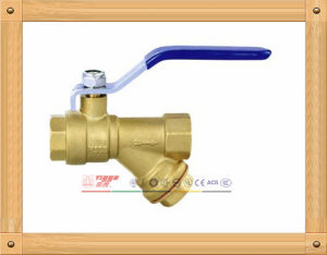 Factory Made Brass Filter Ball Valve