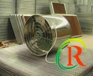 RS Series Exhaust Fan Is Air Circulation Fan for Poultry