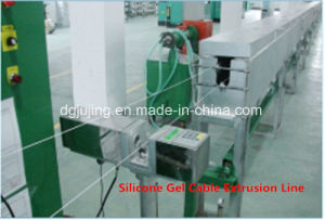 Manufaturing Equipment Silicone Cable Extrusion Line Cable Making Machine pictures & photos