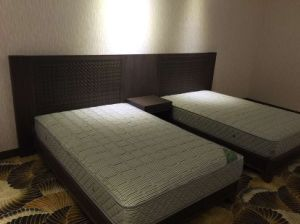 Hotel Furniture/Luxury Double Hotel Bedroom Furniture/Standard Hotel Double Bedroom Suite/Double Hospitality Guest Room Furniture (NCHB-010203) pictures & photos