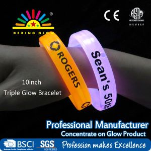 Logo Printed Glow Stick Bracelet for Promotion Toy pictures & photos