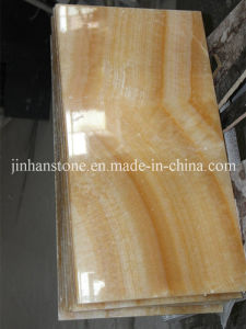 High Polished Honey Onyx Tile for Luxury Hotel Decoration