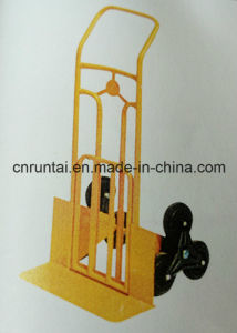 Heavy Duty Man Lifted Hand Trolley pictures & photos
