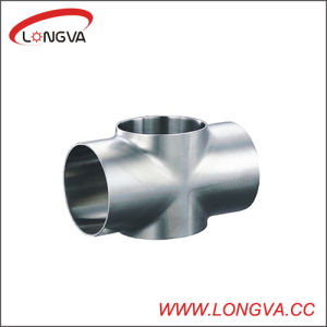 Sanitary Stainless Steel Cross Joint Pipe Fitting pictures & photos