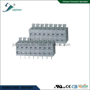 PCB Spring Terminal Block Connector pH5.0m with Grey Housing pictures & photos