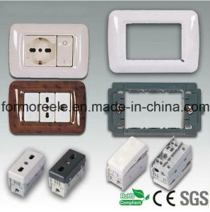 European 16A 250V Three Way Wall Switch pictures & photos
