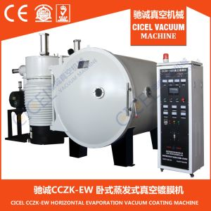 Cczk-1000 Horizontal Evaporation Resin Beads Vacuum/Plastic Aluminum Vacuum Machinery/Reflector Vacuum Coating Machine pictures & photos