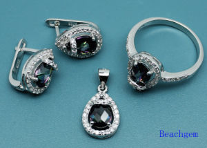 Hot Sale Jewellery Set with Mystic Cubic Zirconia pictures & photos