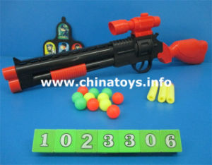 New Plastic Toys EVA Ping Pong Gun Airsoft Gun (1023306) pictures & photos