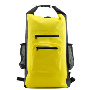 New Design PVC 100% Waterproof Dry Bag Backpack Double Straps pictures & photos