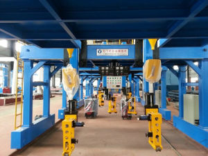 H Beam Gantry Gate Automatic Welding Machine with Lincoln System pictures & photos