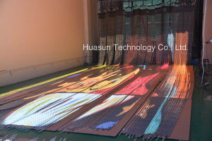 Transparent LED Display with Ultra Thin Body and High Brightness