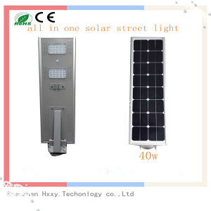 40W All in One Integrated LED Solar Street Light for Outdoor pictures & photos