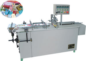 Sinyo-2003 Semi-Automatic Adjustable Cellophane Tri-Dimensional Overwrapping Machine pictures & photos