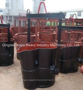 Low Price/ Slide Gate Bottom Pouring Ladle for Sale/ Foundry Ladles pictures & photos