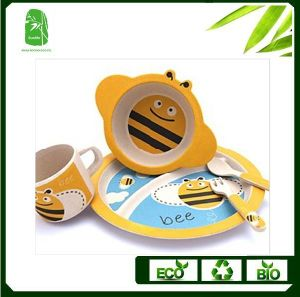 High Quality Bamboo Fibre Children Dinnerware (BC-BB-SU2005) pictures & photos