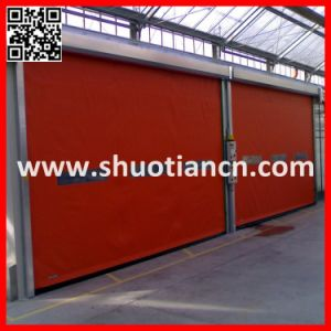 High Speed Workshop Automatic Industrial Rolling Door (ST-001) pictures & photos