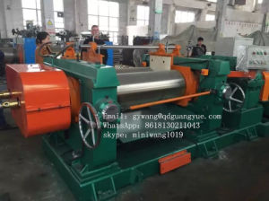 Rubber Two Roll Open Mixing Mill Machine pictures & photos