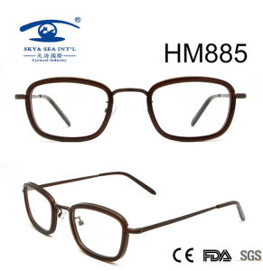 Latest Handmade Vintge Round Rim Acetate Eyeglasses (HM885) pictures & photos
