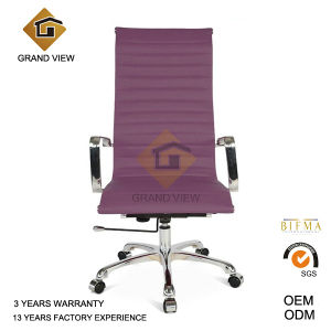 Eames Office Boss Leather Manager Chair with Purple (GV-OC-H306) pictures & photos